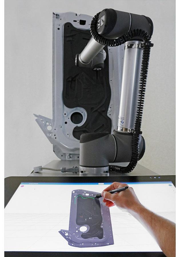 CAD-2-PATH-Anwendung des FZI Forschungszentrum Informatik