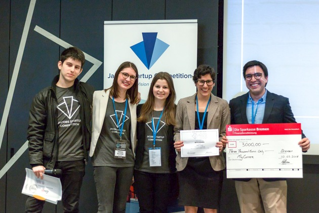 Artificial corneas: Team from Cambridge wins Jacobs University's Startup Competition