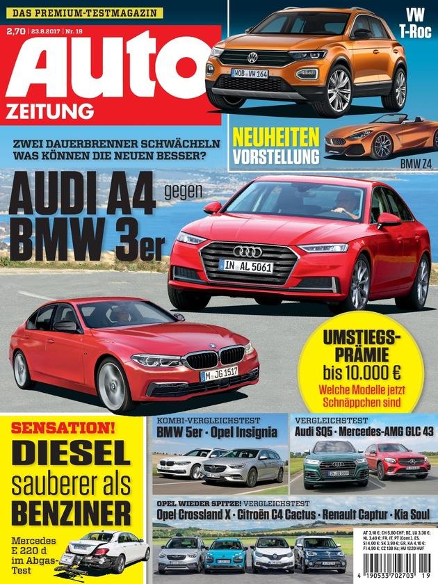 Presseinformation: Dieselmotoren besser als ihr Ruf: AUTO ZEITUNG testet modernen Mercedes-Diesel