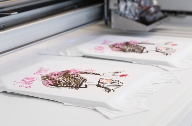 Das Marc Cain Inkjet-Druckverfahren - noch schneller und effizienter...