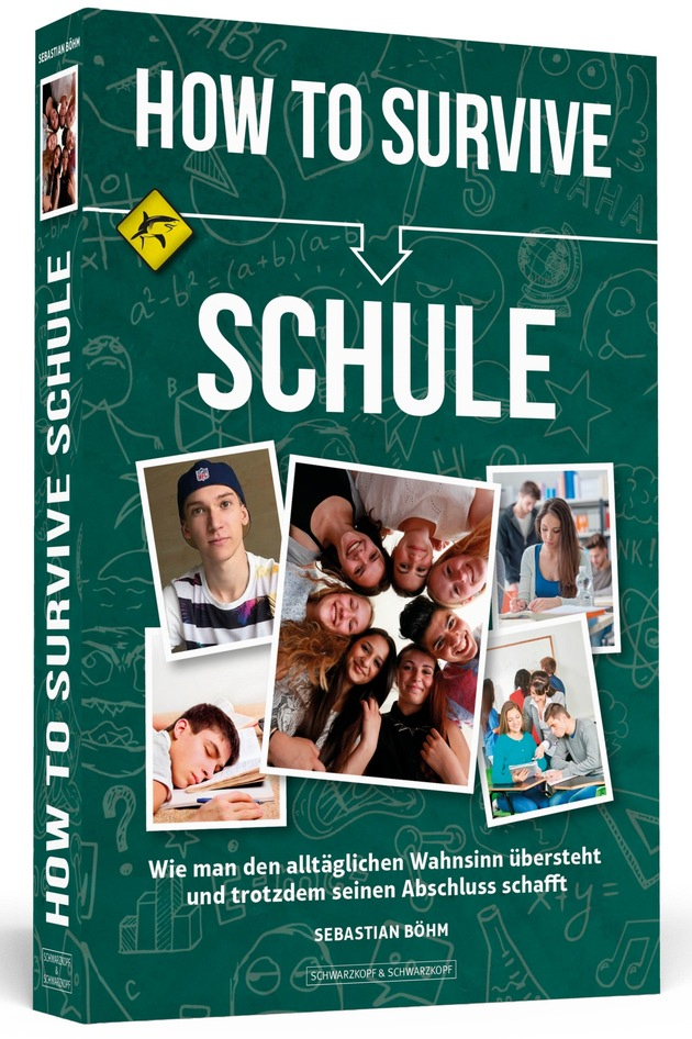 HOW TO SURVIVE SCHULE - Cover - 3D - HiRes