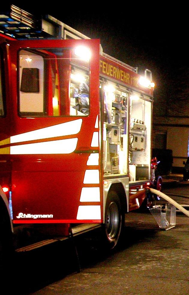 Symbolbild: Nächtlicher Einsatz der Feuerwehr war erfolgreich