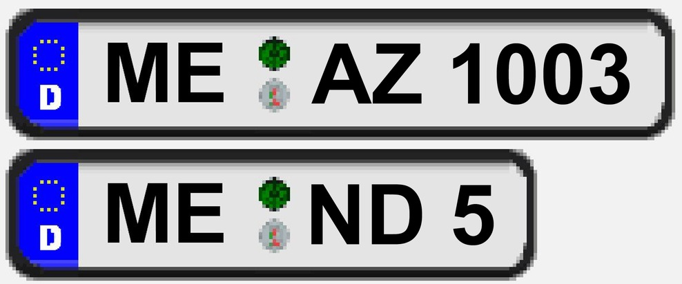 Diese beiden Mettmanner Kennzeichen gehören zu dem gestohlenen Fiat Ducato (ME-AZ1003) und dem ebenfalls verschwundenen VW Golf GTI (ME-ND5)