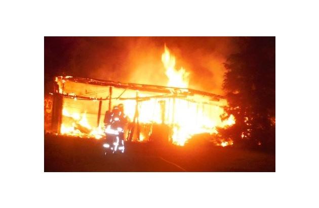 Bild vom Brandort