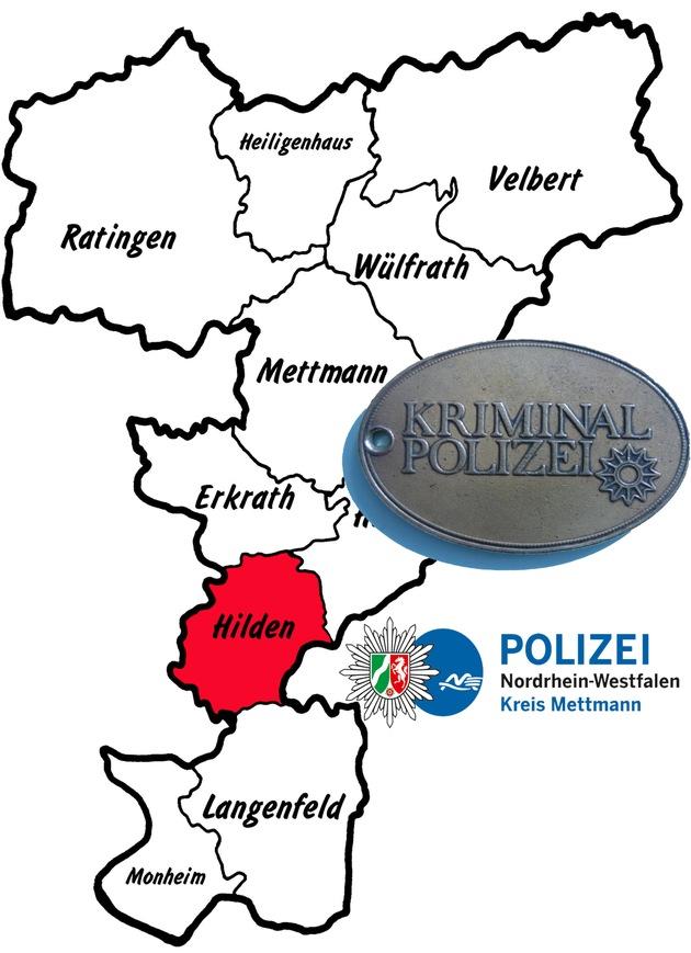 Symbolbild: Die Kriminalpolizei in Hilden ermittelt weiter zu diesen Straftaten