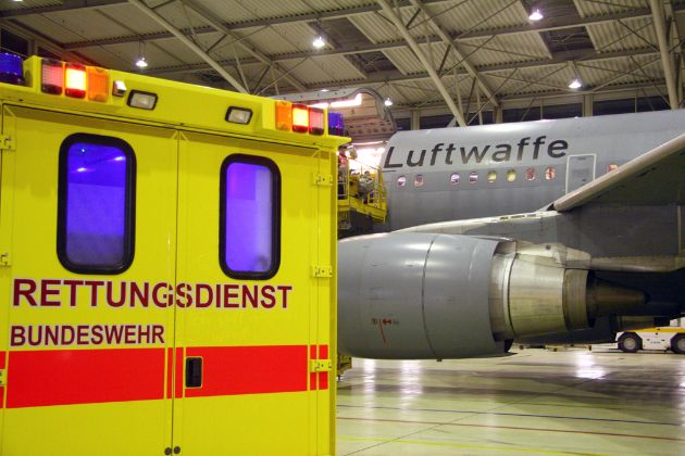 Medical Evacuation der Luftwaffe (mit Bild)