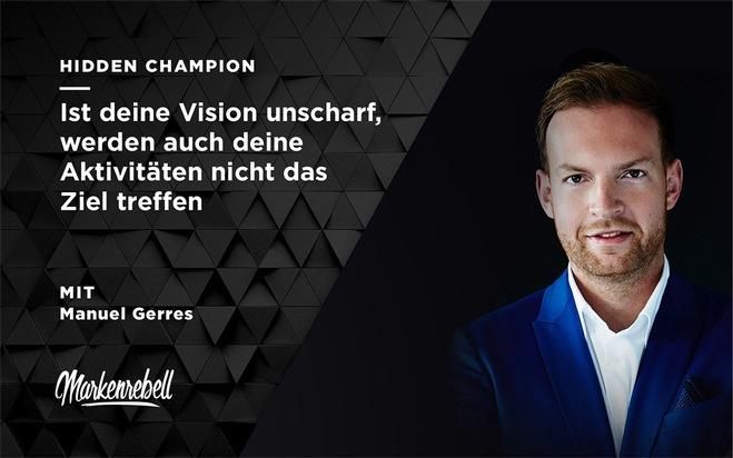 Manuel Gerres, Geschäftsführer DB Digital Ventures