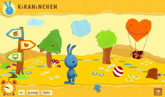 kikaninchen.de geht online / Der Kinderkanal von ARD und ZDF startet das multimediale Vorschulportal am 17. Mai
