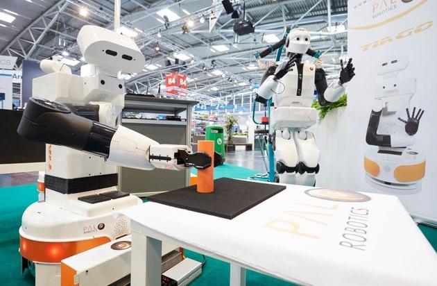 UMFRAGE: Roboter bieten Chancen für COVID-19-Neustart in der Industrie - automatica-Trendindex