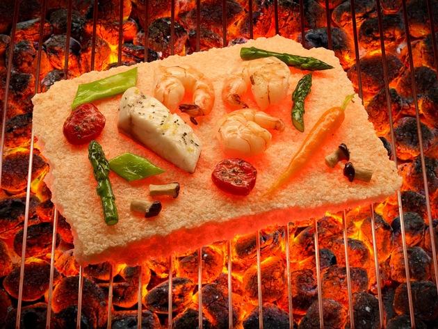 Pressemitteilung: Neuer Trend am Rost - Grillen auf der Salzplatte