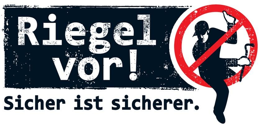 Logo: Riegel vor ! - Sicher ist sicherer