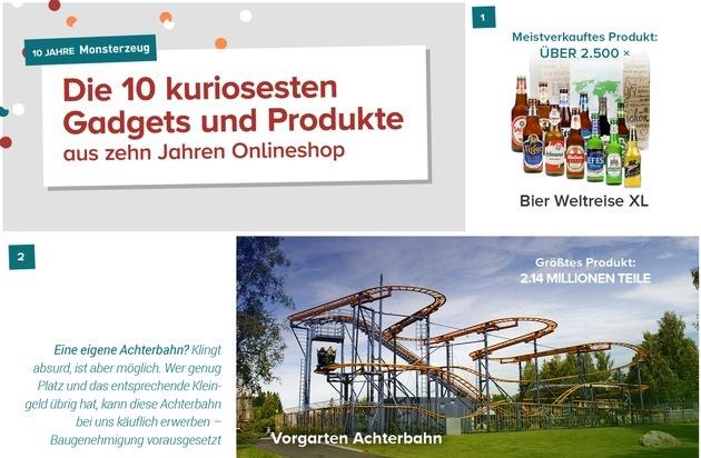 10 Jahre Online Geschenke Markt 10 Jahre Kuriositäten