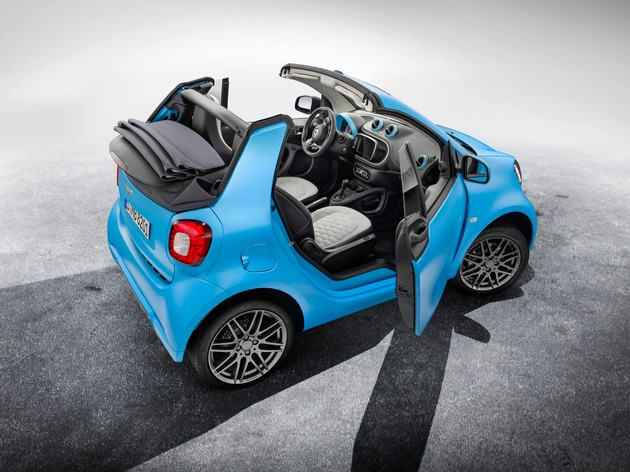 smart fortwo cabrio BRABUS edition, BRABUS Sport-Paket - Die Neuheiten von smart auf dem Genfer Salon 2016