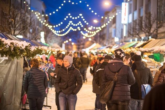 Weihnachtsmarkt Glarus, 7. bis 9. Dezember 2018 © Samuel Trümpy Photography