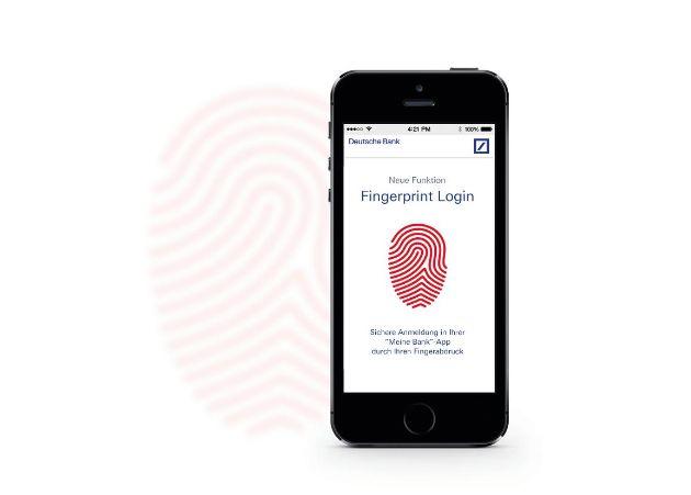 Einfach, schnell, sicher: Deutsche Bank bietet ihren Kunden Online-Zugang mit Fingerabdruck und Banking mit photoTAN