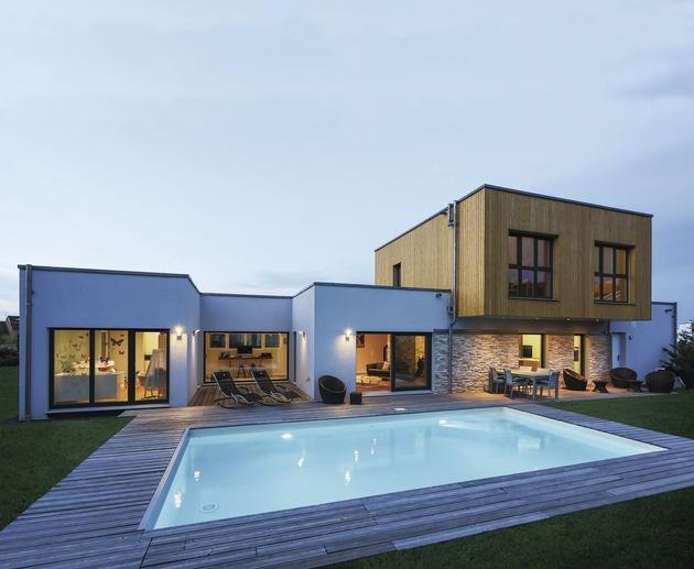 """Silber erhielt das WeberHaus der Baufamilie Cartier in der Kategorie """"Premiumhäuser""""."""