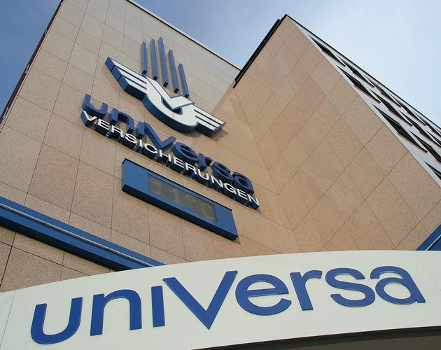 uniVersa Unternehmenszentrale Nürnberg. Foto: uniVersa - Abdruck: honorarfrei