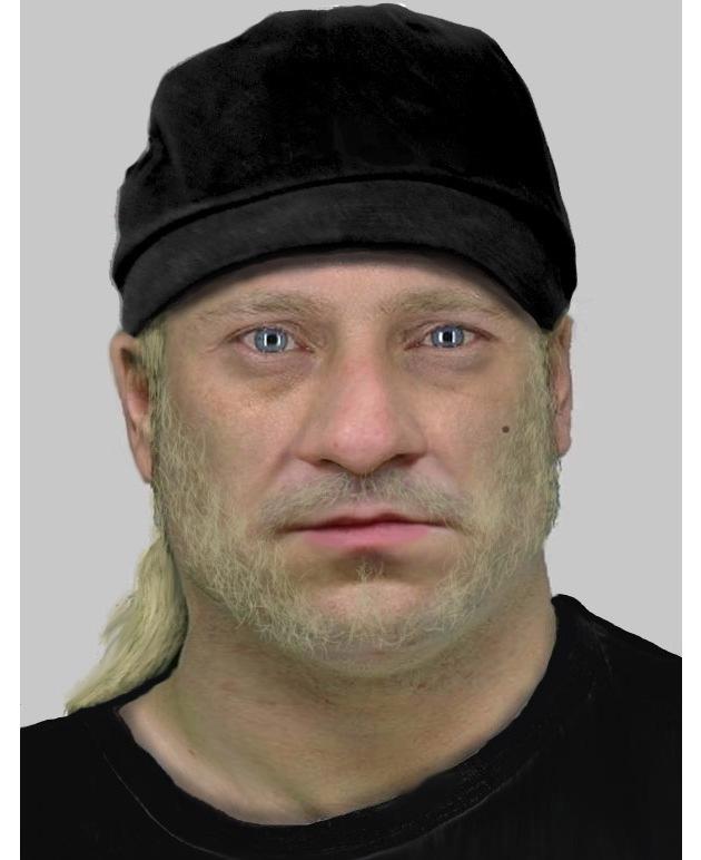 Wer kennt diesen Mann? Hinweise an die Polizei unter 0228/15-0.