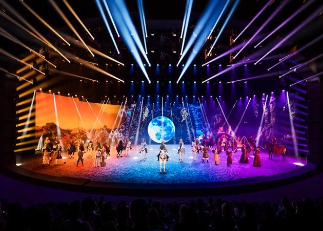 """EQUILA feiert erste Show nach der Premiere im SHOWPALAST MÜNCHEN / Münchens neues Showerlebnis EQUILA. Facettenreiches Live-Entertainment. Weiterer Text über ots und www.presseportal.de/nr/127634 / Die Verwendung dieses Bildes ist für redaktionelle Zwecke honorarfrei. Veröffentlichung bitte unter Quellenangabe: """"obs/APASSIONATA presents EQUILA"""""""