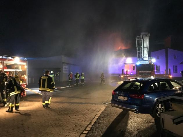 Großeinsatz für die Feuerwehr der SG Eschershausen-Stadtoldendorf