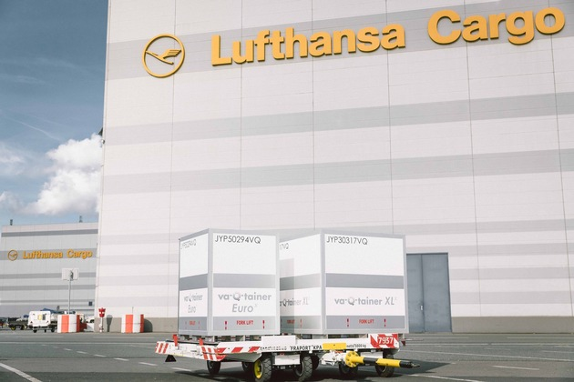 va-Q-tainer sind nun im Angebot von Lufthansa Cargo erhältlich. (Photocredits: Stefan Glänzer / sturmpracht.de)