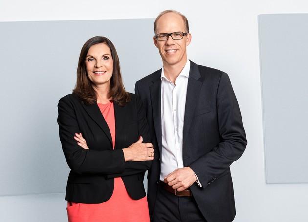 Neue Doppelspitze tritt ihren Dienst an: Edith Stier-Thompson und Frank Stadthoewer leiten ab sofort gemeinsam die Geschicke der dpa-Tochter news aktuell