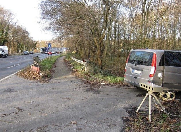 POL-ME: Geschwindigkeitsmessungen in der 34. KW - Kreis Mettmann - 1708092