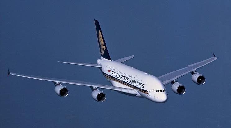 Exemplarisches Foto eines A380 von Singapore Airlines. Das abgebildete Flugzeug ist nicht das Investitionsobjekt eines der Fonds.