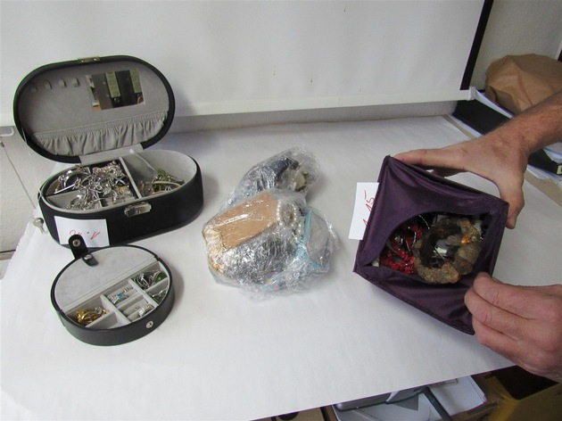 Weitere sichergestellte Gegenstände
