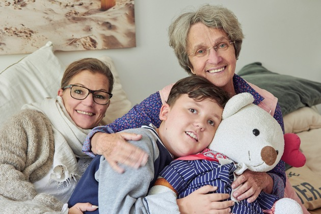 ?Botschafterin? Ingrid Heinsen setzt sich mit ihrer Stiftung Klingelknopf für die Inklusion an Neurofibromatose erkrankter Kinder ein / Foto: © VNG-Stiftung