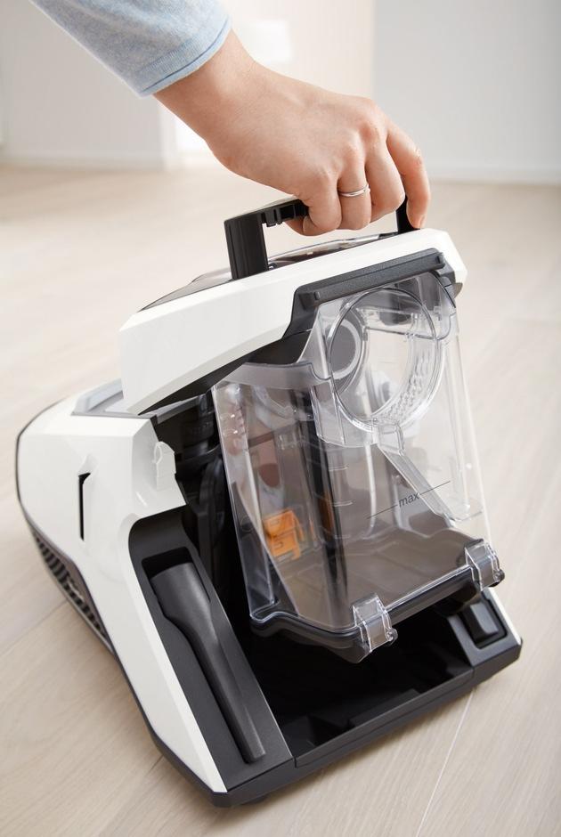 Potente, silenzioso e con certificato d'igiene: il primo aspirapolvere Miele senza sacchetto