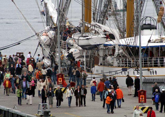 2500 Seeleute aus elf Nationen zu Gast bei der Kieler Woche