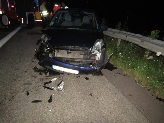 POL-PDKL: Aus Bagatelle wird Unfall mit schwer verletztem Beteiligten