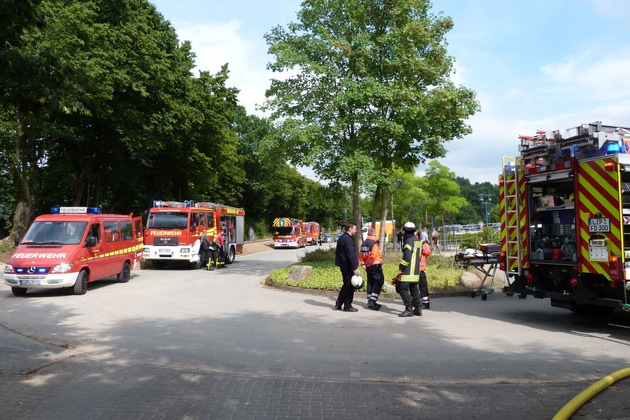 FW-DT: Feuer in Trafostation