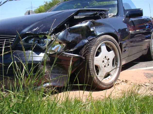 Foto vom Unfallfahrzeug