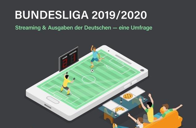 Forsa-Umfrage zur Bundesliga 2019 / 2020: Diese Streamingdienste nutzen die Deutschen für die Spiele und so viel sind sie bereit dafür zu zahlen