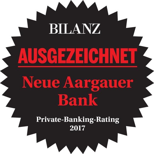 2017 BILANZ Rating NAB Private Banking 2017