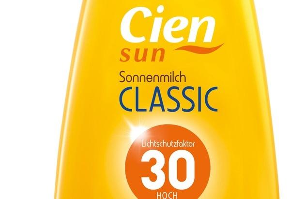 Cien Sun Sonnenmilch: Testsieger bei Stiftung Warentest..