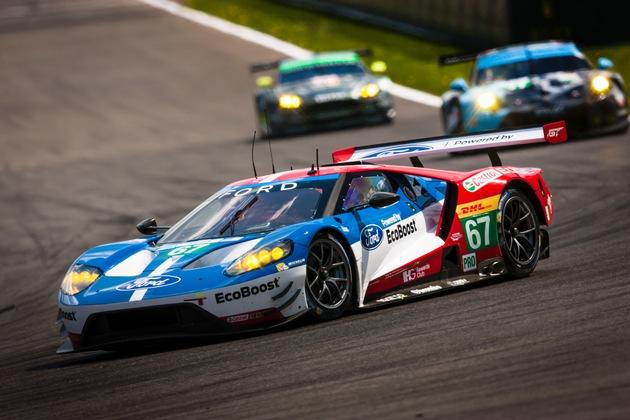 Erster Podestplatz im zweiten WM-Lauf: Ford Chip Ganassi Racing erobert in Spa-Francorchamps Rang zwei