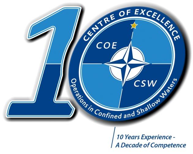 10-Jahres-Logo COE CSW