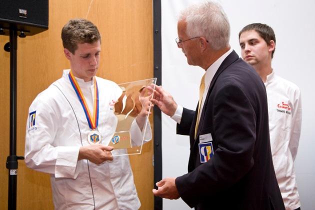 Ale Mordasini, Sous-Chef im Meridiano-Kursaal Bern, gewinnt den Swiss Culinary Cup 2011