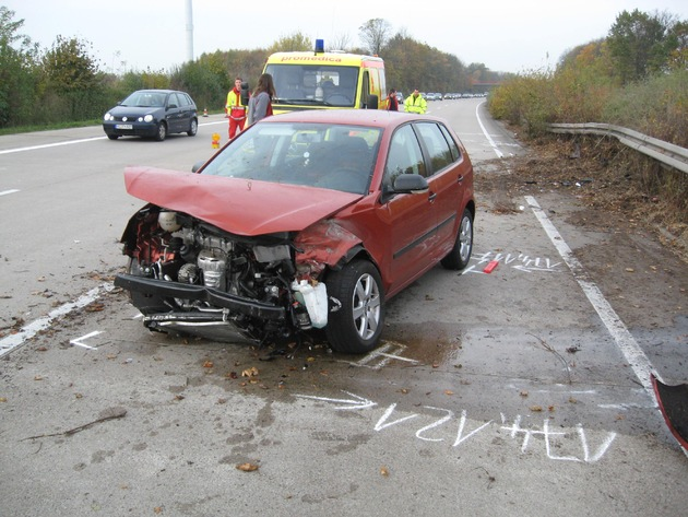 POL-HI: LK Hildesheim, BAB 7 --- 6 km Stau nach Unfall mit verletzter Person