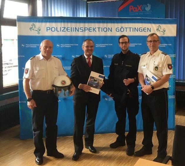 Präsentation Sicherheitsbericht Bernd Wiesendorf, Uwe Lührig, Christian Müller-Henke, Thomas Rath