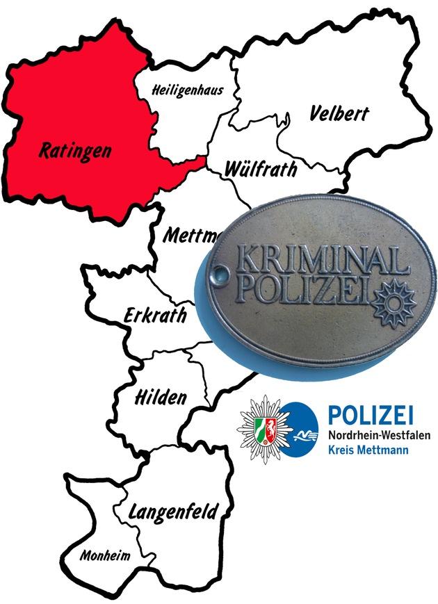 Symbolbild: Kriminalpolizei ermittelt in Ratingen