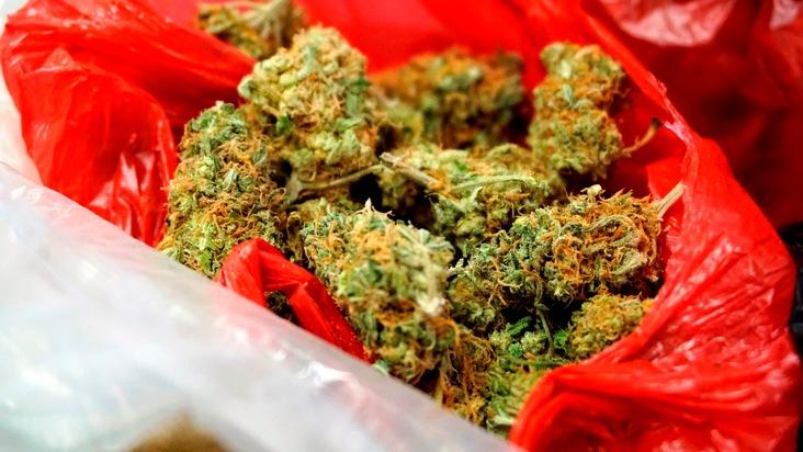 Bild 2: sichergestellte Drogen