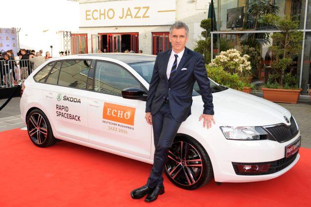 SKODA fuhr die Stars zum ECHO Jazz 2014
