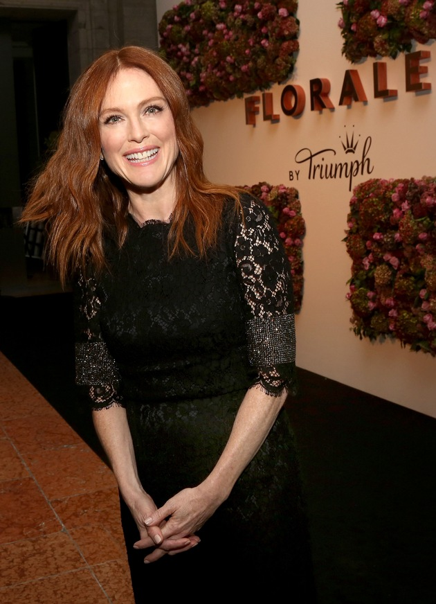"Launch Event ""Florale by Triumph"" in Berlin mit Schauspielerin Julianne Moore"