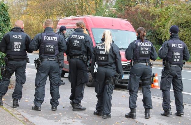 POL-HA: Polizei Hagen führt Schwerpunkteinsatz zur Bekämpfung des Wohnungseinbruchdiebstahls durch