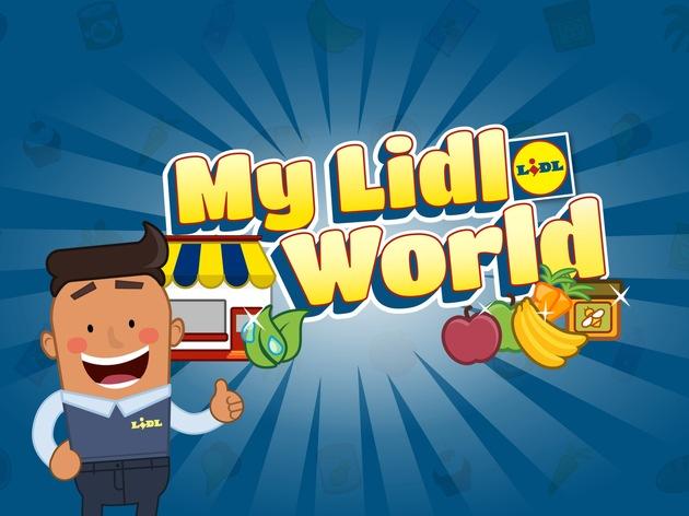 """Das kostenfreie Spiel """"My Lidl World"""" ist ab sofort im App Store und bei Google Play verfügbar. Weiterer Text über ots und www.presseportal.de/nr/58227 / Die Verwendung dieses Bildes ist für redaktionelle Zwecke honorarfrei. Veröffentlichung bitte unter Quellenangabe: """"obs/LIDL/Lidl"""""""