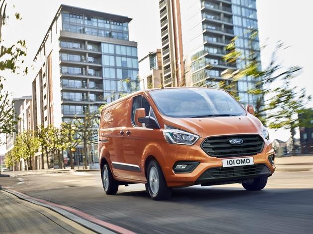 Neuer Ford Transit Custom: frisches Styling, cleverer Innenraum und optional als sparsame ECOnetic-Variante